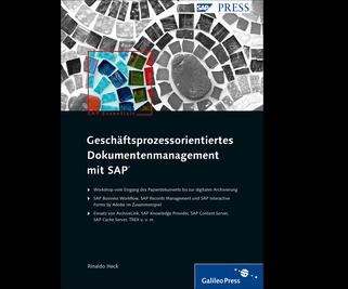 Cover von Geschäftsprozessorientiertes Dokumentenmanagement mit SAP