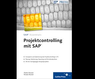 Cover von Projektcontrolling mit SAP