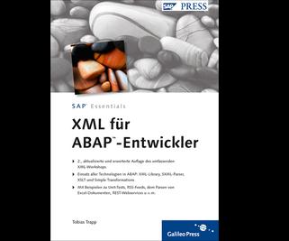 Cover von XML für ABAP-Entwickler
