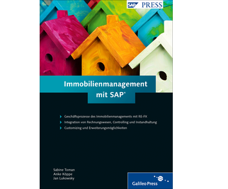 Cover von Immobilienmanagement mit SAP