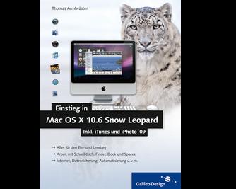 Cover von Einstieg in Mac OS X 10.6 Snow Leopard