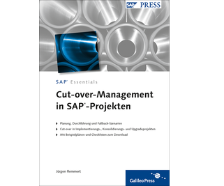 Cover von Cut-over-Management in SAP-Projekten