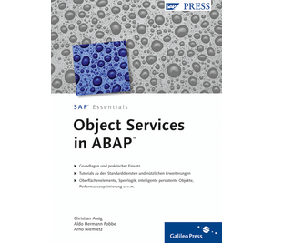 Cover von Object Services in ABAP