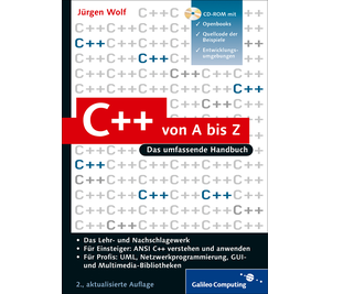 Cover von C++ von A bis Z