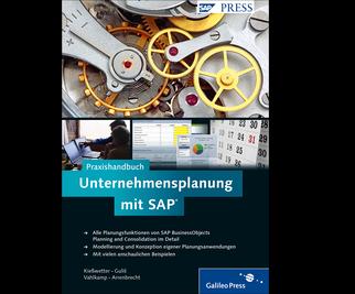 Cover von Praxishandbuch Unternehmensplanung mit SAP