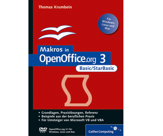 Cover von Makros in OpenOffice.org 3 - Basic/StarBasic