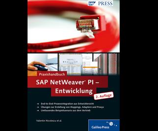 Cover von Praxishandbuch SAP NetWeaver PI – Entwicklung