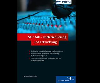 Cover von SAP MII – Implementierung und Entwicklung