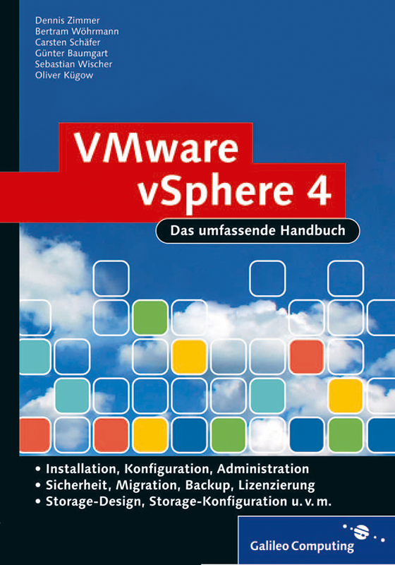vmware vsphere 4 das umfassende handbuch von dennis zimmer bertram w hrmann carsten sch fer. Black Bedroom Furniture Sets. Home Design Ideas
