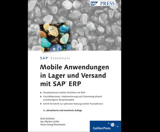 Cover von Mobile Anwendungen in Lager und Versand mit SAP ERP