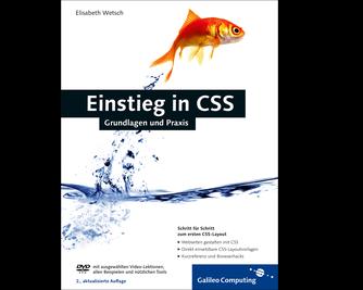 Cover von Einstieg in CSS