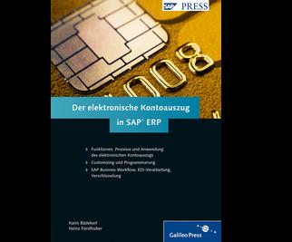 Cover von Der elektronische Kontoauszug in SAP ERP