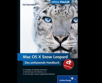 Cover von Mac OS X Snow Leopard