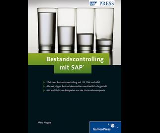 Cover von Bestandscontrolling mit SAP