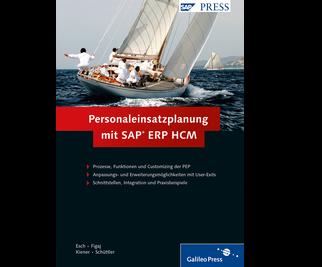 Cover von Personaleinsatzplanung mit SAP ERP HCM