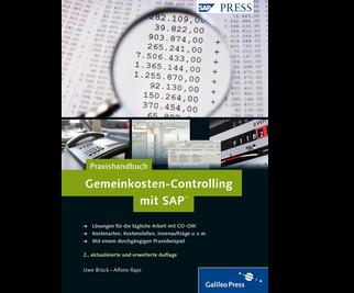 Cover von Praxishandbuch Gemeinkosten-Controlling mit SAP