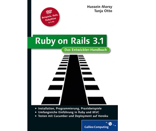 Cover von Ruby on Rails 3.1