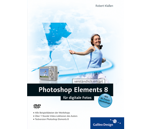 Cover von Photoshop Elements 8 für digitale Fotos