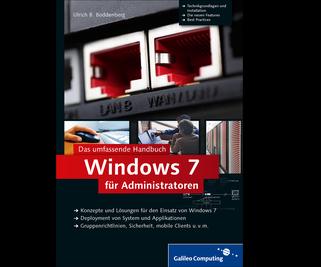 Cover von Windows 7 für Administratoren