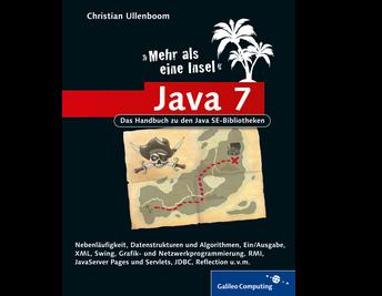 Cover von Java 7 – Mehr als eine Insel