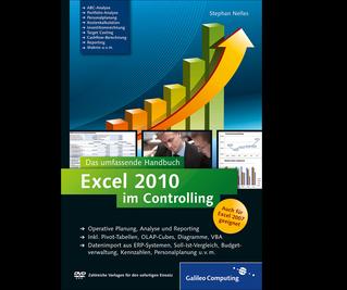 Cover von Excel 2010 im Controlling