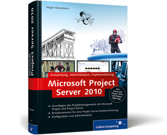 Cover von Microsoft Project Server 2010