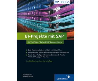 Cover von BI-Projekte mit SAP – SAP NetWeaver BW und SAP BusinessObjects