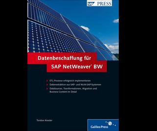 Cover von Datenbeschaffung für SAP NetWeaver BW
