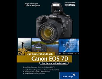 Cover von Canon EOS 7D. Das Kamerahandbuch