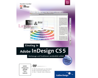 Cover von Einstieg in Adobe InDesign CS5