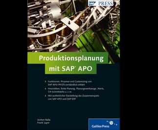 Cover von Produktionsplanung mit SAP APO