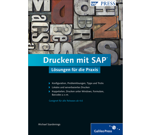 Cover von Drucken mit SAP