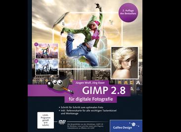 Cover von GIMP 2.8 für digitale Fotografie