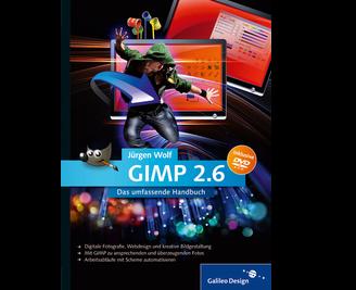 Cover von GIMP 2.6