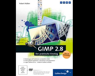 Cover von GIMP 2.8
