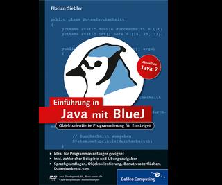 Cover von Einführung in Java mit BlueJ
