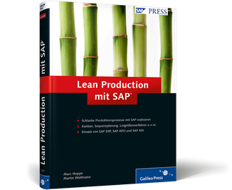 Cover von Lean Production mit SAP
