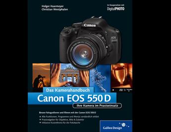 Cover von Canon EOS 550D. Das Kamerahandbuch