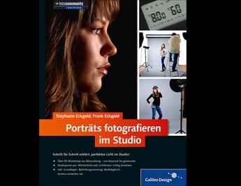 Cover von Porträts fotografieren im Studio