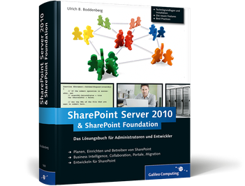 Cover von Microsoft SharePoint Server 2010 und SharePoint Foundation 2010