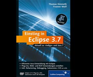 Cover von Einstieg in Eclipse 3.7