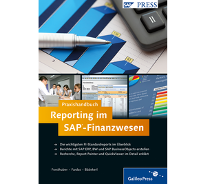 Cover von Praxishandbuch Reporting im SAP-Finanzwesen