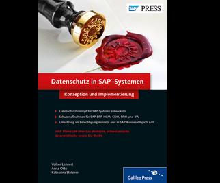 Cover von Datenschutz in SAP-Systemen