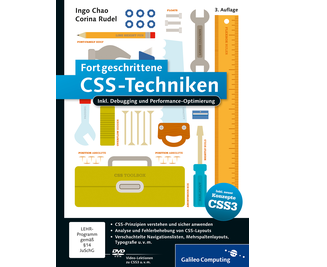 Cover von Fortgeschrittene CSS-Techniken