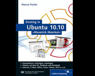 Cover von Einstieg in Ubuntu 10.10 »Maverick Meerkat«