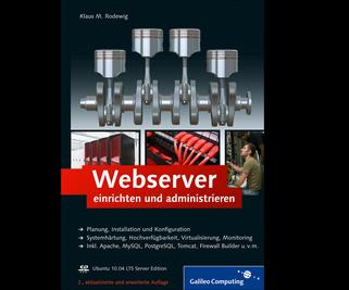Cover von Webserver einrichten und administrieren