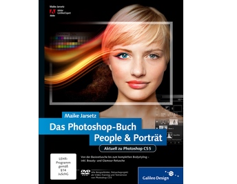 Cover von Das Photoshop-Buch People & Porträt