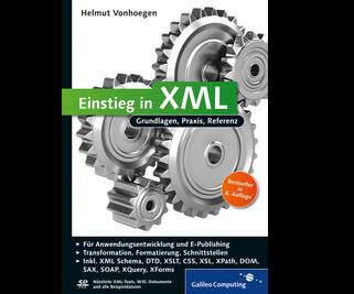 Cover von Einstieg in XML