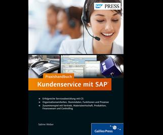 Cover von Praxishandbuch Kundenservice mit SAP