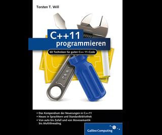 Cover von C++11 programmieren